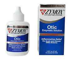 Zymox Otic Pet Ear Treatment with Hydrocortisone, for Itching Inflammation Rash