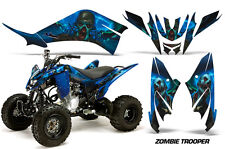 Yamaha Raptor 125 AMR Racing Graphic Kit Wrap Quad Decals ATV All Years ZOMBIE B