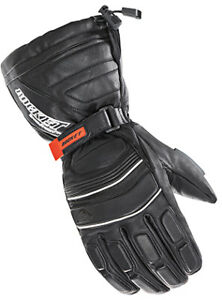 Joe Rocket Extreme Leather Snow Gloves XL Black 1802-065