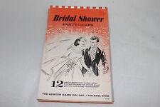 Vintage 1969 Bridal Shower Party Game Pad