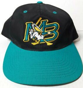 Myrtle Beach Pelicans Outdoor Cap Snapback Hat With Player Autographs