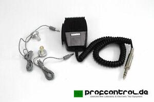 Teac / Primo Dynamic Microphone Imedance 10 Kohms With 2 Earphones