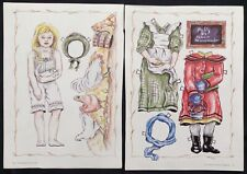 Milly Paper Doll, 1993 Doll Mag. by Robert Neuenswander