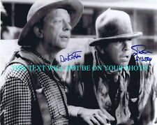 DON KNOTTS AND TIM CONWAY SIGNED AUTOGRAPH 8x10 RP PHOTO THE APPLE DUMPLING GANG