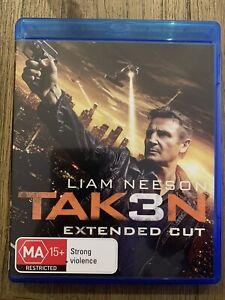 Taken 3 (Blu Ray, 2014) Extended Cut
