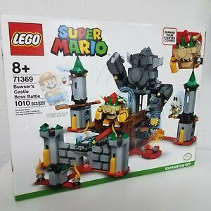 LEGO Super Mario Bowsers Castle Boss Battle Expansion Set 71369,READ DESCRIPTION