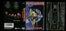 Iron Maiden No Prayer For The Dying CASTLE USA Cassette Tape VERY RARE !