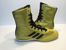 Adidas Box Hog x Special Men's Boxing Shoes Gold BC0355 New Size 9.5