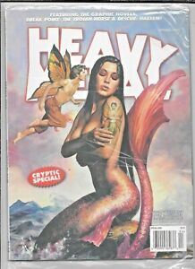 Heavy Metal Vol 33 #2 Spring 2009 Cryptic Special Julie Bell VF/NM 1977 Series