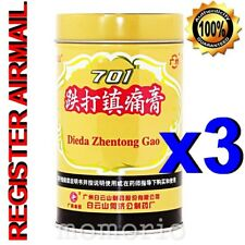 701 Dieda Zhentong Gao Pain relief easing Plaster 10cm x 400cm herbal patch x 3