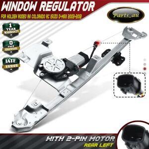 Window Regulator w/ Motor Rear Left for Holden Rodeo RA Colorado RC Isuzu D-Max