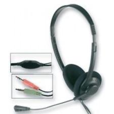 Digital Multimedia Auriculares Estéreo Micro Volumen Control, 2 x 3.5MM Tapones