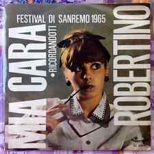 """ROBERTINO / MIA CARA (Mogol) - RICORDANDOTI - 7"""" (Italy 1965 - Sanremo) EX / EX-"""