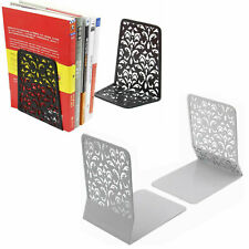 6.5 Inch Metal Library Bookends Book Support Organizer Bookends Shelves Office