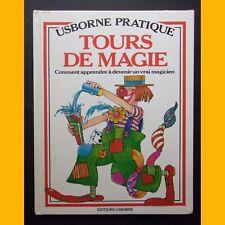 TOURS DE MAGIE Comment apprendre à devenir un vrai magicien 1977