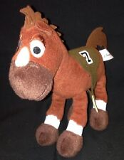 Disney Parks Brown Race Horse Toy Story Woody Plush Stuffed #7 Bullseye 8""