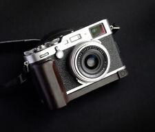 Handmade Natural Blackwood Wooden Hand Grip L Plate for Fujifilm X-100F Camera
