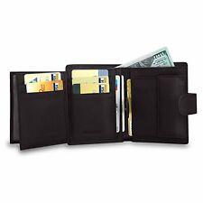 Portefeuille Homme Cuir Véritable Porte Monnaie Classique Carte Billet .. Cadeau