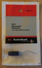NEW! RadioShack 220uF Axial Lead Electrolytic Capacitor 2721017 *FREE SHIPPING*