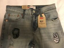 levis 511 27x27 Slim Fit Jeans New With Tags