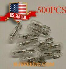 500X Warm White 37 70 74 T5 Instrument Panel Halogen Mini-Wedge Bulb 12-14V, 2W