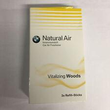 BMW Natural Air Car Air Freshener Refill Kit - Vitalising Woods 83122285677