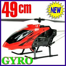 RC 3 GYRO New Remote Control Metal Frame Helicopter 3.5CH BIG not mini Gift Red