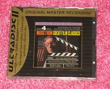 BERNARD HERRMANN - Music from Great Film Classics - CD MFSL Gold Disc NEW Rare