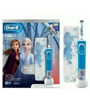 Oral-B Kids Frozen 3+ Electric Toothbrush Powered by Braun Gift Travel Case
