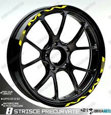 PROFILI BMW RUOTA ADESIVI ADESIVO STICKER BMW WHEEL GIALLO S 1000 RR