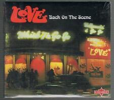 LOVE - BACK ON THE SCENE 10 TRACKS + 4 BONUS TRACKS (NEW & SEALED) CD ALBUM