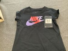New Nike 26F595-023Black,  Girls 4T T-Shirt NWT