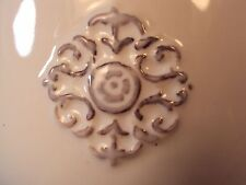 Vtg Southern Living at Home Petite Bowl & Lid Small Unique Unusual Ornate Shape