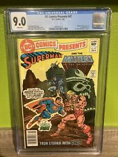 DC Comics Presents #47 CGC 9.0 NM- MOTU NEWS STAND Copy! 1st app He-man 1982.