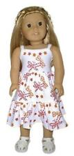 "Dragonfly Print Sleeveless Dress Fits 18"" American Girl Dolls"