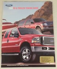 2007 Ford Truck RV Trailer Towing Guide Dealership Sales Brochure Catalog 27 Pgs
