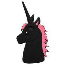Animal lindo Unicornio Silicona Goma 3D Estuche Cubierta para iPhone