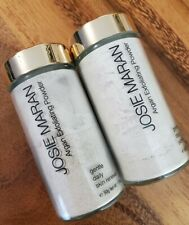New listing Josie Maran Argan Exfoliating Cleansing Powder Skin renewal - Two (2) Sealed New