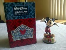 Jim Shore Disney Traditions Mickey Mouse October Birthstone Figurine
