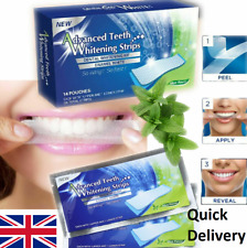 28 STRIPS ADVANCED PROFESSIONAL TEETH WHITENING STRIPS WHITE 2 WEEKS SUPPLY