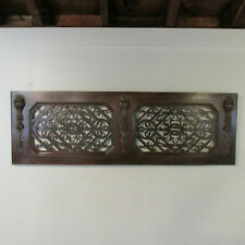 Vintage Brazilian Rosewood Transom Panel Circa 1940 54 Inches Long
