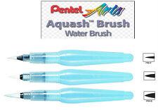 Pentel Aquash Water Brush - Set of 3