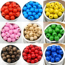 Wholesale 1000Pcs Wood Round Loose Spacer Charms Beads Jewelry DIY 5.5x3mm