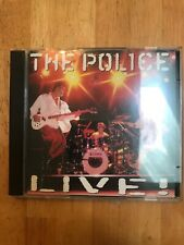 The Police Live! 2 CD Set US BMG Music Club Issue