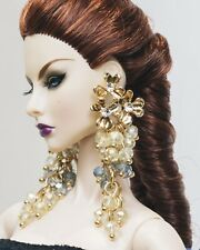 jewelry (earrings) for doll Integrity Toys, Fashion Royalty, Poppy Parker,Barbie
