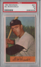 1954 Bowman #97 Gil McDougald PSA 6