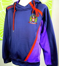 WIGAN WARRIORS  Performance Hoody Kids Size 10