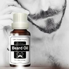 100% Natural Organic Beard Oil Men Beard Care Facial Skin Hair Oils Aftershave