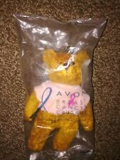 New Avon Breast Cancer Crusade Bear (2001) - In Original Bag - Free Shipping