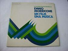ENNIO MORRICONE - UN FILM UNA MUSICA - 2LP VINYL EXCELLENT CONDITION 1974